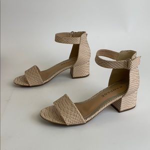Rampage Shoes - Boutique sandal heels, size 7.5, new with tags